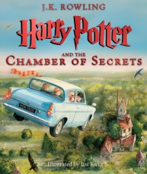 Harry Potter and the Chamber of Secrets The Illustrated Edition (Harry Potter, Book 2)