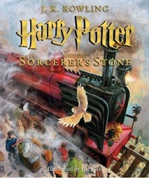 Harry Potter and the Sorcerer's Stone The Illustrated Edition (Harry Potter, Book 1)